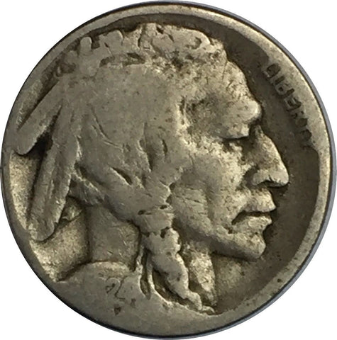 1924-S 5C Buffalo Nickel - San Francisco Mint - G Good Grade 730-12Z