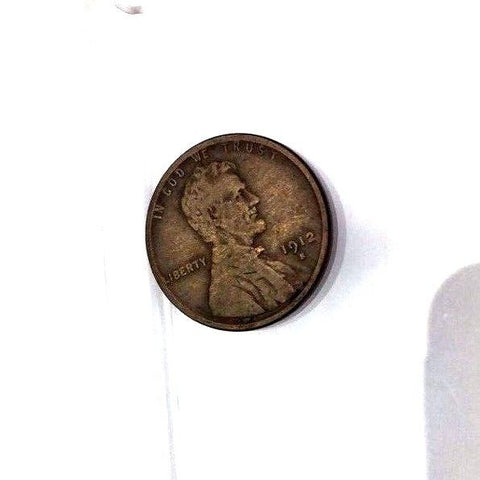 1912-S 1c Lincoln Wheat Cent - Better Date San Francisco Mint Coin 33-5O
