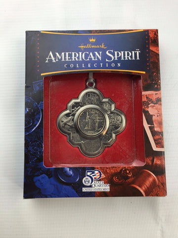 Hallmark US Mint - American Spirit Collection Christmas Ornament  - New York 25c