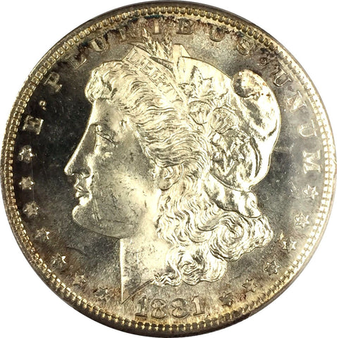 1881-S  $1 Morgan Silver Dollar - PCGS MS64 - Toned Fresh to Market Coin (OSJD1)