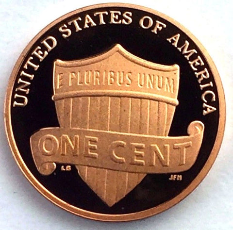 2011-S 1c Lincoln Proof Memorial Shield Cent San Francisco Presentation Strike
