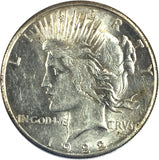 1922-S $1 Peace Dollar - San Francisco Mint - Uncirculated 817-9DO