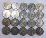 1923-D $1 Peace Silver Dollar  20 COIN ROLL All Average Circulated Coin 1115-273