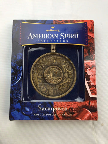Hallmark / US Mint - American Spirit Collection Christmas Ornament  - Sacagawea