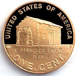 2009-S 1c Lincoln Proof LOG CABIN Cent - San Francisco Mint Presentation Strike