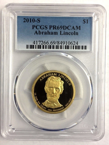 2009-P $1 Abraham Lincoln DC (Proof) PCGS PR69DCAM Buy 2+ = Free Shipping *