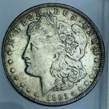 1921-S $1 Morgan Silver Dollar San Francisco United States Coin 317-8O