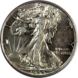 1944 50C Walking Liberty Silver Half Dollar High Grade Philadelphia  729-90O