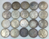Pre-1921 Morgan Silver Dollar Roll - Most Near Full Detail - Mixed Dates & Mints