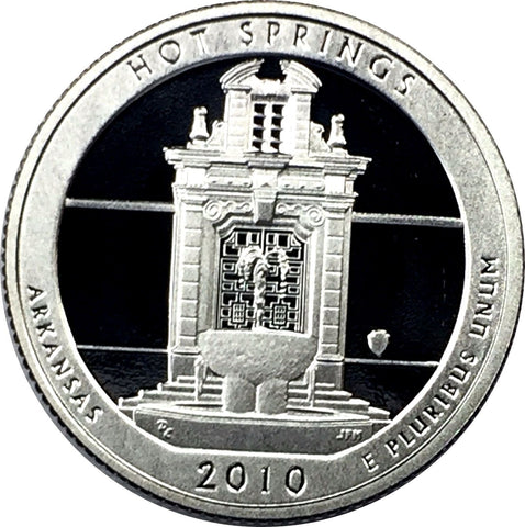 2010-S 25C Hot Springs NP - Silver DC (Proof) America the Beautiful Quarter