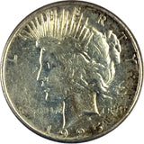 1925-S $1 Peace Dollar - San Francisco Mint - XF Details 817-8DU