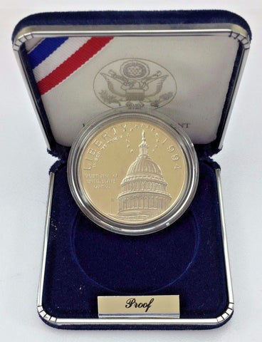 1994 $1 Silver One Dollar Commemorative Coin - US Capitol Building - US Mint