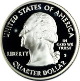 2008-S 25c Proof Washington SILVER Statehood Quarter - Mexico 123-61L