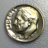 1971 S 10c Proof Roosevelt Dime - Yearly Special Presentation Strike Coin