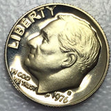 1976 S 10c Proof Roosevelt Dime - Bicentennial Year Presentation Strike Coin