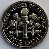 1988-S 10c Roosevelt Proof Dime - Yearly Presentation Strike Coin