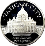 2013 GSM Vatican City 1 oz .999 Fine silver Bullion Pope Francis I      1212-5DC
