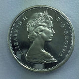 1965 Canada Silver 25c Deep Cameo / Cameo Surfaces Canadian Quarter 1/4 $1