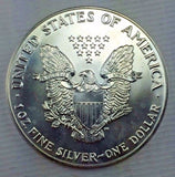1990 $1 American Silver Eagle / ASE Bullion Coin - Brilliant Uncirculated 119-11