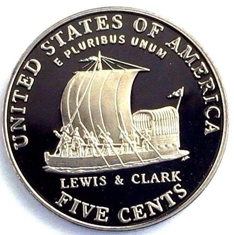 2004 S JEFFERSON *PROOF* KEEL BOAT NICKEL  **FREE SHIPPING**