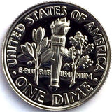 2001-S 10c Roosevelt Proof Dime - Yearly Presentation Strike Coin
