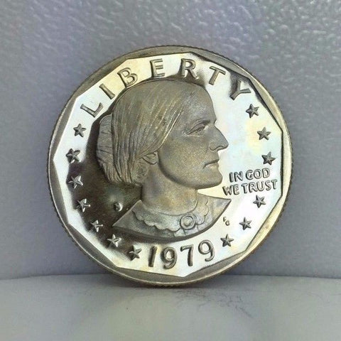 1979-S SBA$1 Susan B. Anthony Dollar Type 1 Mintmark - Choice Gem BU