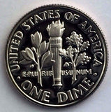 1990-S 10c Roosevelt Proof Dime - Yearly Presentation Strike Coin