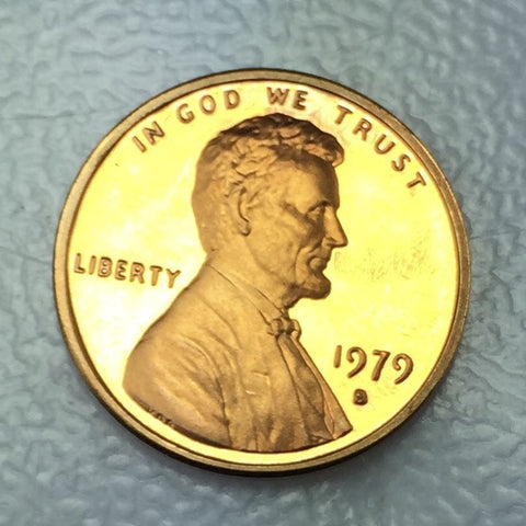 1979 S T1 1c Proof Lincoln Memorial Cent Type 1 One Variety