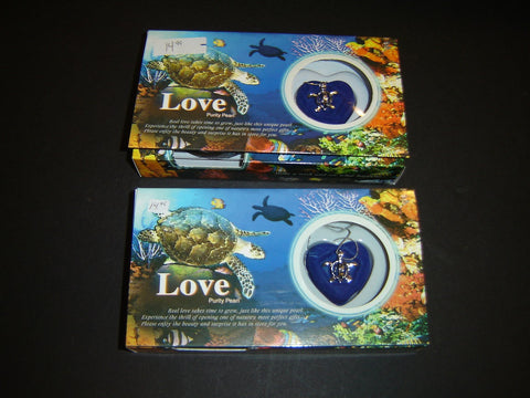 Two Turtle, Dolphin, or Mermaid Love Pearl Necklaces