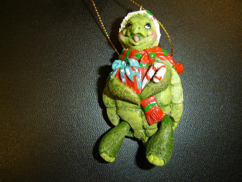 BABY TURTLE HOLIDAY CHRISTMAS ORNAMENT (CO-6)