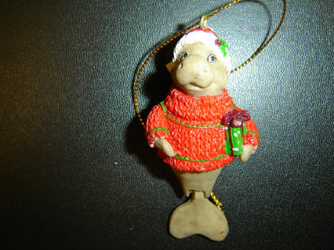 MANATEE HOLIDAY CHRISTMAS ORNAMENT (CO-7)