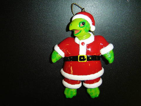SINGLE TURTLE CHRISTMAS HOLIDAY ORNAMENT (CO-13)