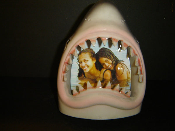 Brand New Shark Jaw Resin Picture Frame (PF-10)