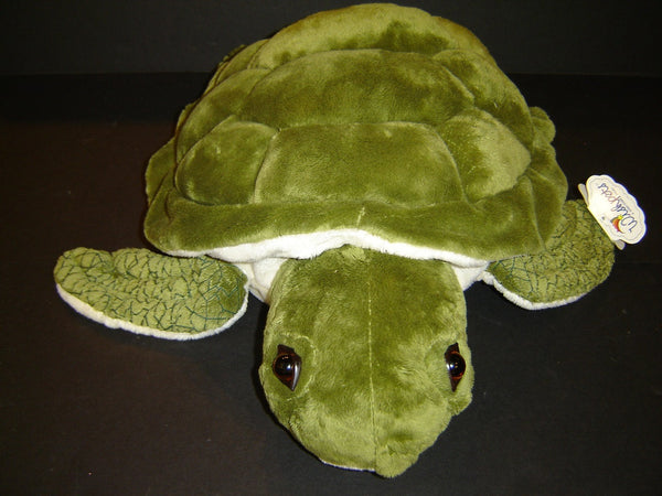 Wishpets Large Green Sea Turtle Stuffed Animal The Turtle Factory