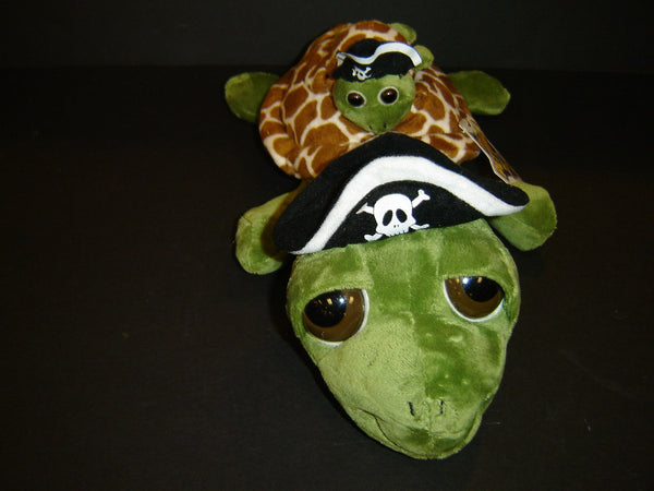 The Petting Zoo Pirate Bright Eyes Pocketz Turtle (SA-20)