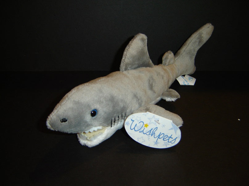 Wishpets Plush Great White Shark Stuffed Animal The Turtle Factory