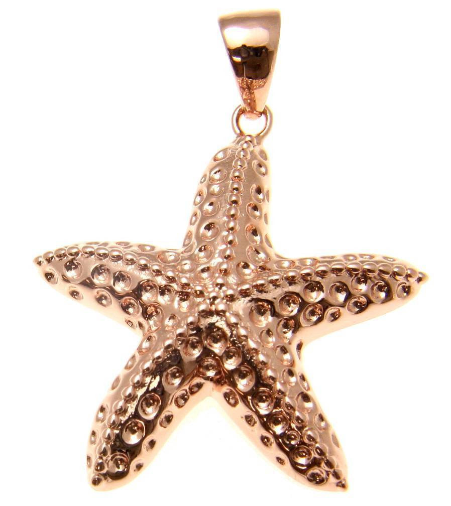 20mm Silver Yellow Plated Starfish Charm
