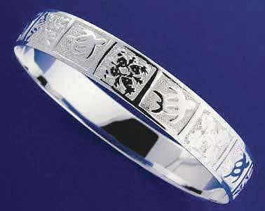STERLING SILVER 925 HAWAIIAN BANGLE BRACELET HONU TURTLE QUILT SMOOTH EDGE 10MM (TB-30)