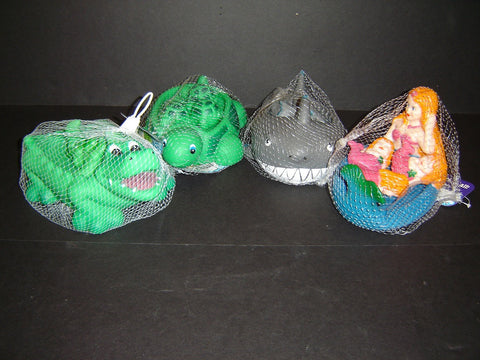 New Bathtub Tubby Scrubby Turtle, Alligator, Mermaid or Shark Toys for kids
