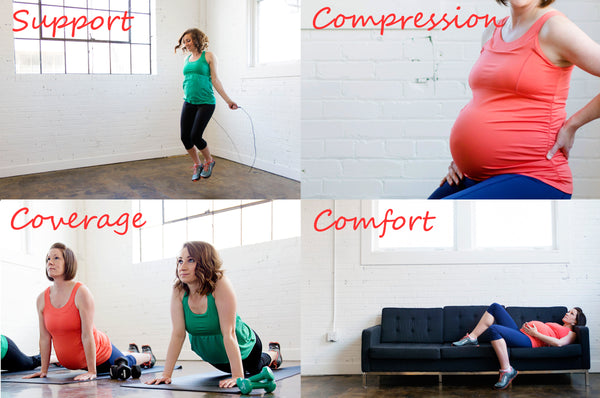 the benefits of the Mumband belly support