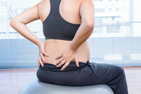 Prenatal Lower Back pain can be helped by activity