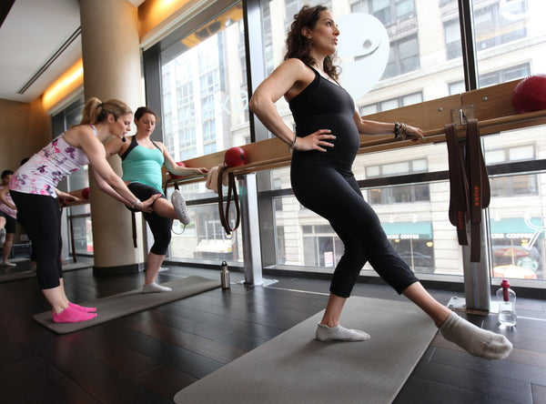 best pregnancy workouts are barre workouts