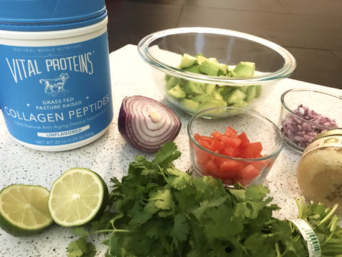 protein guacamole ingredients
