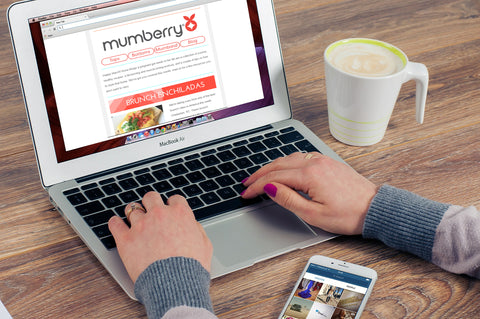 The Mumberry newsletter delivers recipes and fitness tip for your healthy pregnancy