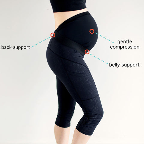 pregnancy essentials belly support leggings