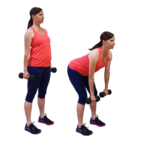 pregnancy workout routine deadlifts