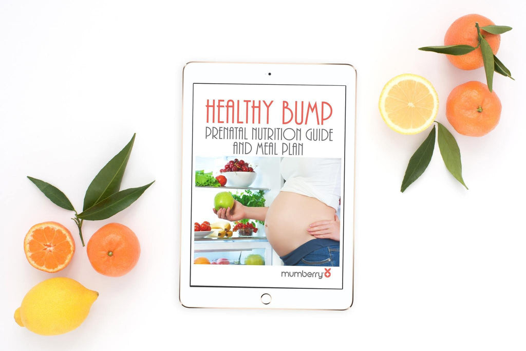 Healthy Bump Meal Plan - Digital Download