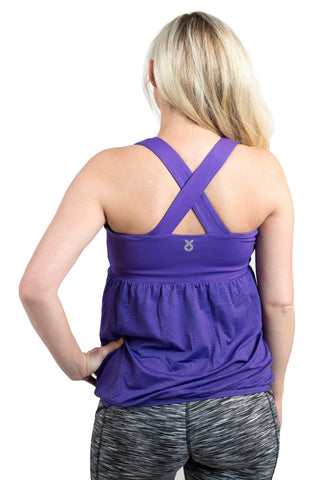 Boost Maternity Tank with Mumband Pregnancy Belly Support