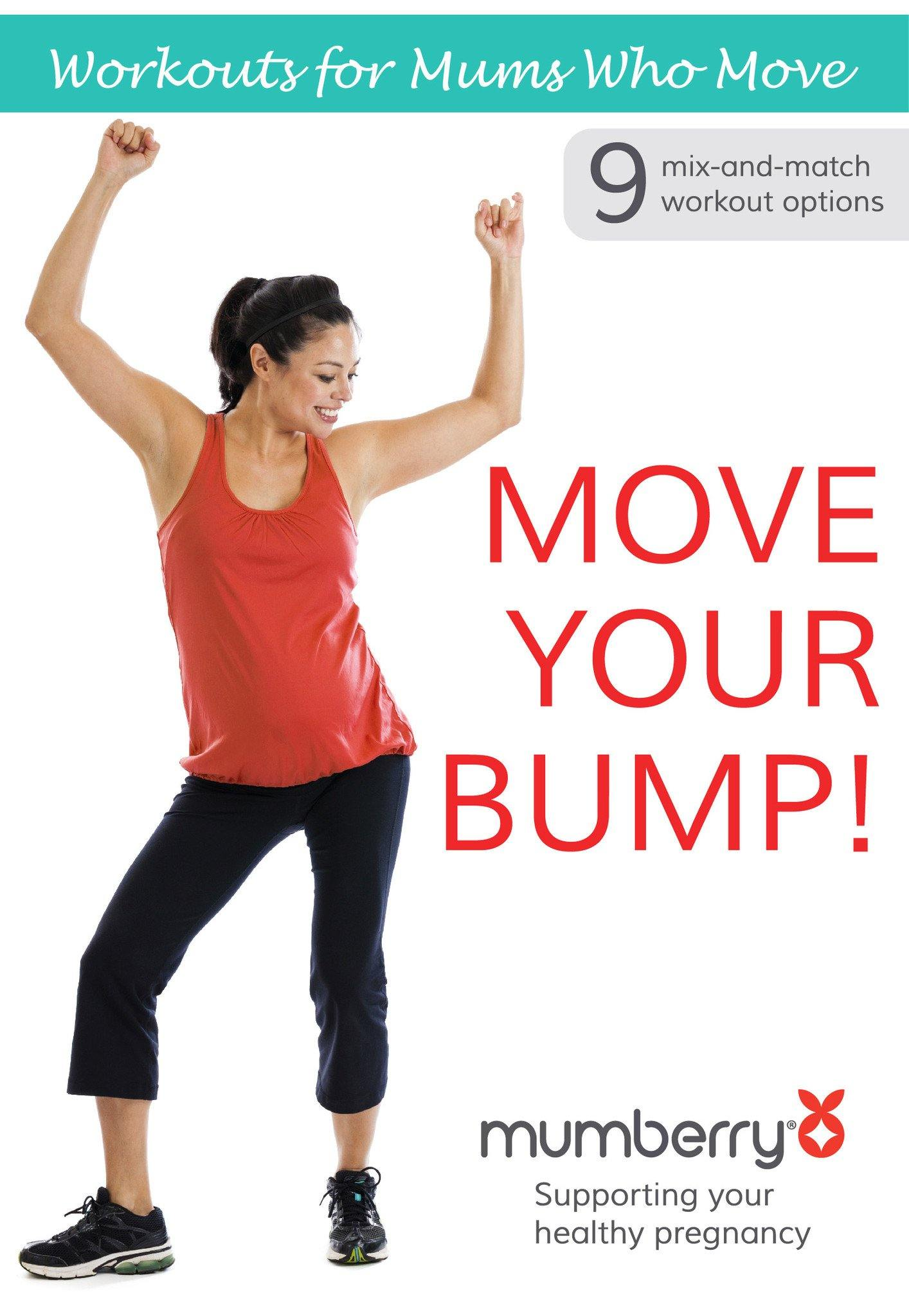 Move Your Bump Full Body Workout Video - Digital Download