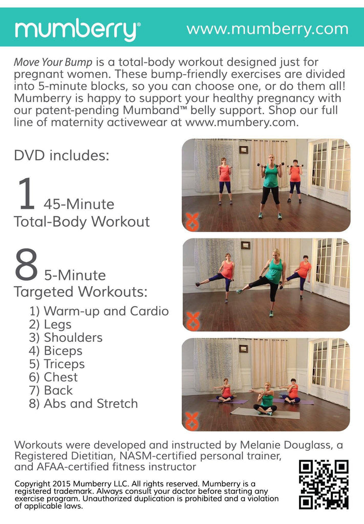 Move Your Bump Workout - Digital Download